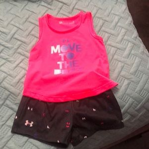 Girls UA outfit